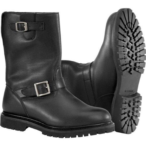 River Road Boulevard Waterproof Men's Leather Harley Cruiser Motorcycle Boots - Black / Size 11.5