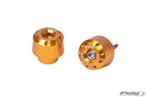 Puig 6196O Gold Aluminum Short Bar End
