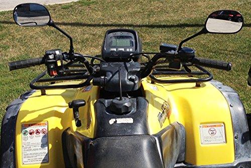 Rearview Mirrors Fit ATVs such as Polaris Honda Suzuki Kawasaki and Yamaha