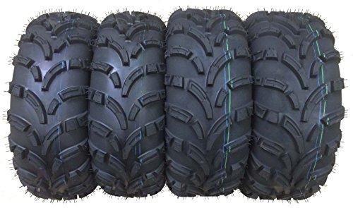 Set of 4 New WANDA ATVUTV Tires 25x8-12 Front 25x10-12 Rear 6PR P373 - 1024310244 …