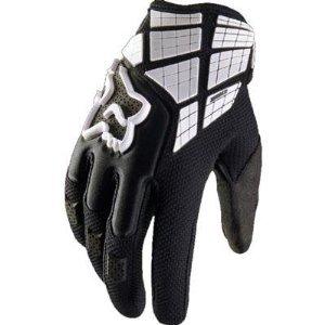 Fox Racing 360 Flight Men's Motocross Motorcycle Gloves - Black / Large