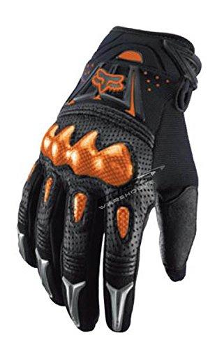 Fox Racing Bomber Men's Motox Motorcycle Gloves - Black/orange / Medium