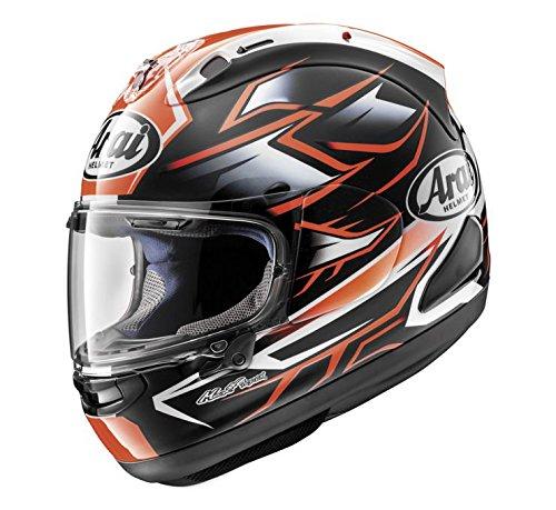 Arai Corsair-X Ghost Street Motorcycle Helmet - RedLarge