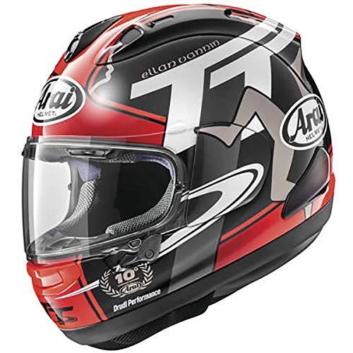 Arai Corsair-X Isle Of Man 2018 Adult Street Motorcycle Helmet - RedX-Large