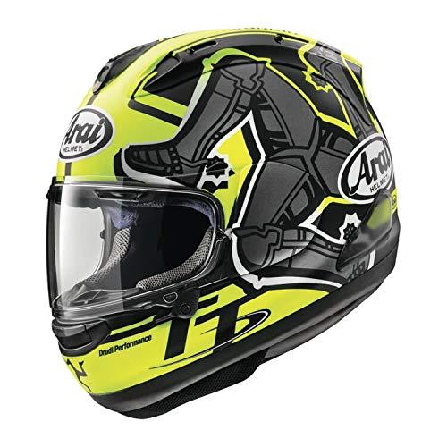Arai Corsair X Isle of Man 2019 Motorcycle Helmet Hi-VisBlack XS