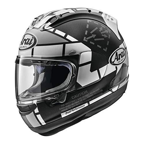 Arai Corsair-X Vinales 2019 Adult Street Motorcycle Helmet - WhiteLarge