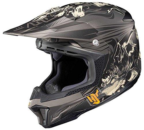 HJC CL-X7 El Lobo Off-Road Motocross Helmet MC-5F Small