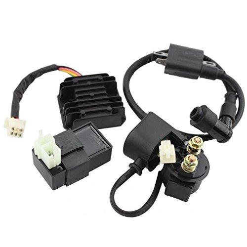 New Ignition Coil CDI Regulator Rectifier Relay Kit for ATV 150cc 200cc 250 Taotao Roketa Chinese ATV
