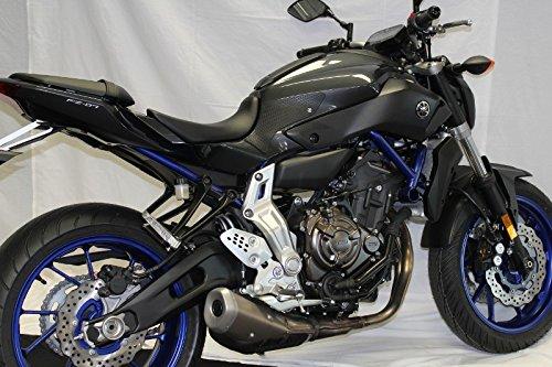 TechSpec Snake Skin Gripster Tank Grip for Yamaha FZ-07 2014