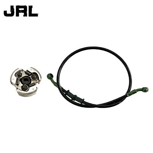 JRL 80cm Black Fuel Line And Cluch For Chinese 2 Stroke 43 47 49cc Pocket Dirt Bik