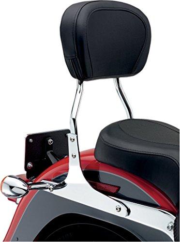 Cobra HD Accessories Short Sissy Bar Round - Chrome