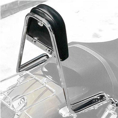 MC Enterprise Chrome Sissybar and Backrest for 2002-2009 Kawasaki VN15001600 V