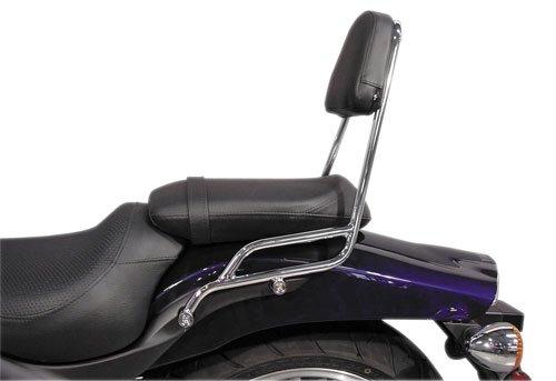 MC Enterprise Chrome Sissybar and Backrest for 2008-2009 Honda CMX250 Rebel