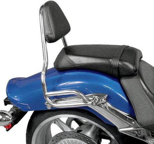 MC Enterprise Chrome Sissybar and Backrest for 2008-2010 Yamaha XV19CX RaiderX