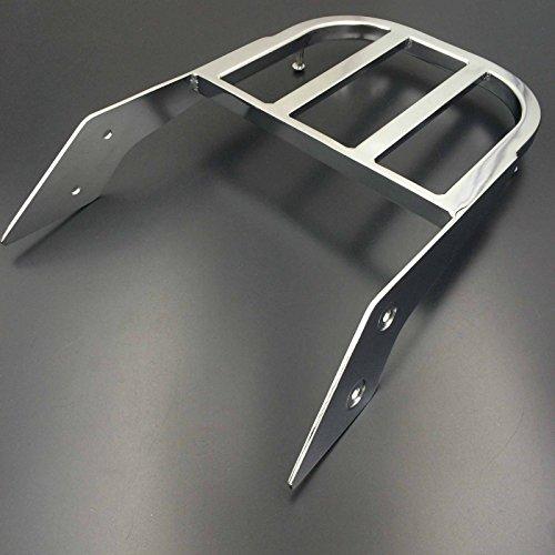 XKMT Motorcycle Chrome Sissy Bar Luggage Rack For 2002-2006 Honda VTX 1300C 2002-2011 Honda VTX 1800C 2005-2011 Honda VTX 1800F