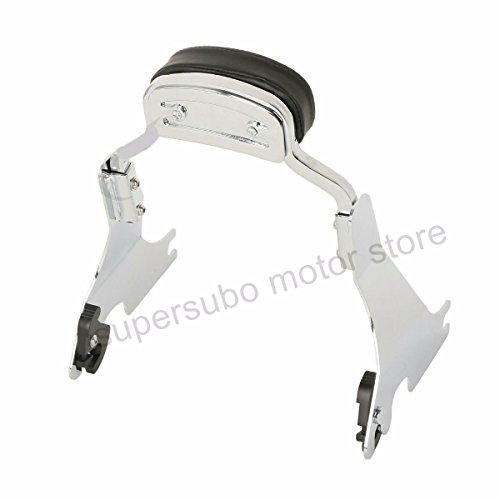Chrome Motorcycle backrest harley sportster sissy bar 883 Short Backrest For Harley Sportster 1200 Iron 883 48 72 2004-2017…