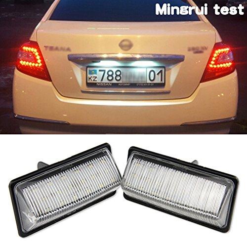 Directly use for Nissan Led Light License Frame Plate Light For Nissan 2003-2008 -- 2pcs