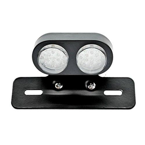 Krator Custom License Plate Tag Taillight Turn Signals For Kawasaki KLX KX KL 110 125 140 250 300 450 650
