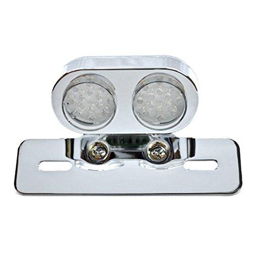 Krator Custom License Plate Tag Taillight Turn Signals For Polaris Ranger 2x4 4x4 6x6 800 RZR EV