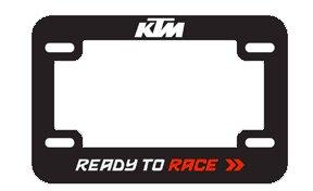 2018 KTM Motorcycle License Plate Holder UPW1871000