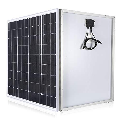 TP-solar Solar Panel 20W 100W 12 Volts Monocrystalline 12V Battery Charger Kits Mono Module for RV Marine Boat Off Grid 100W