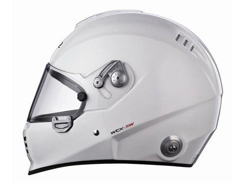 Sparco 0033050XS Helmet Carbon WTX-5W White Size XSmall