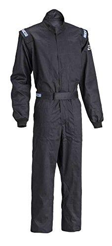 Sparco Mens Suit Driver Black Large