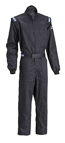 Sparco Mens Suit Driver Black X-Small