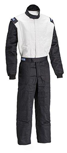 Sparco Mens Suit Jade BlackWhite Medium