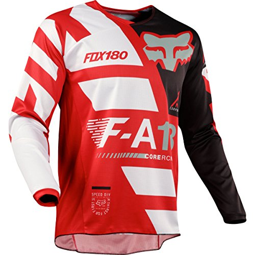 2018 Fox Racing 180 Sayak Jersey-Red-L