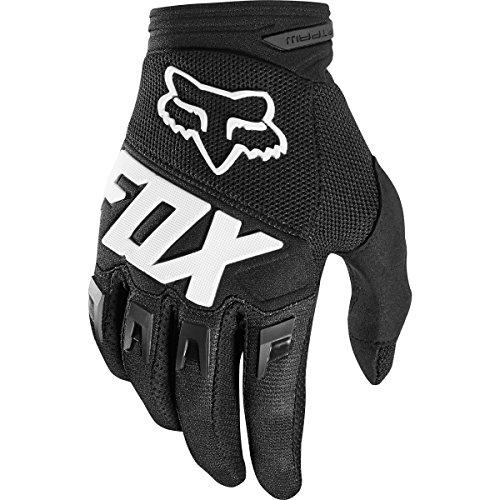 2018 Fox Racing Youth Dirtpaw Race Gloves-Black-YS