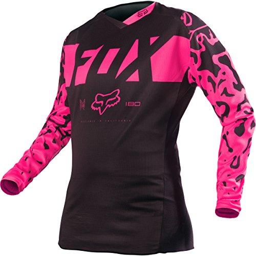 Fox Racing 2016 180 Womens Dirt Bike Motorcycle Jerseys - BlackPink  Small