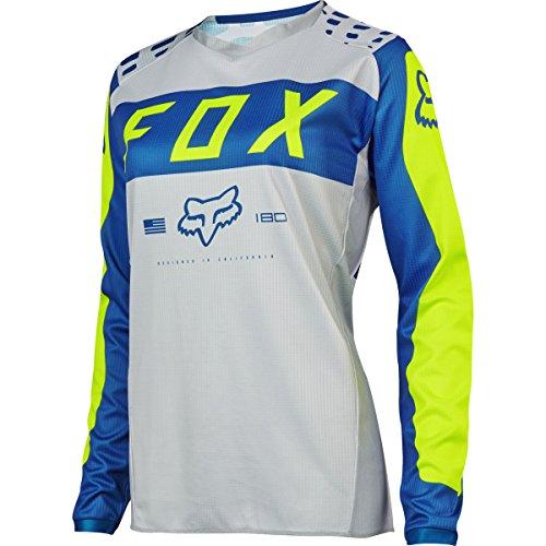 Fox Racing 2017 Womens 180 Jersey-GreyBlue-M