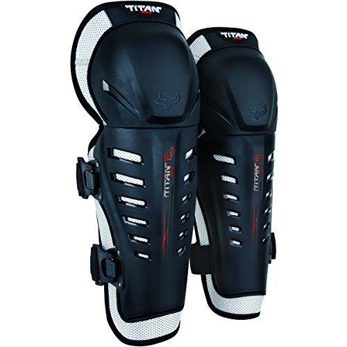 Fox Racing Mens Titan Race KneeShin Guards Motorcycle Protection