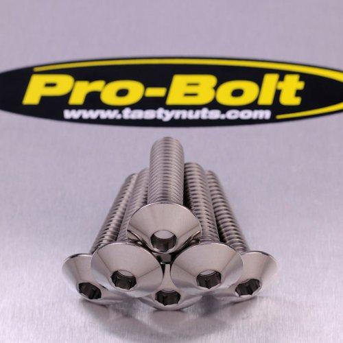 Titanium Pillion Footrest Hanger Bolt Kit