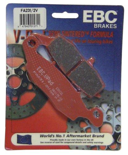 EBC Brakes FA2312V Semi Sintered Disc Brake Pad