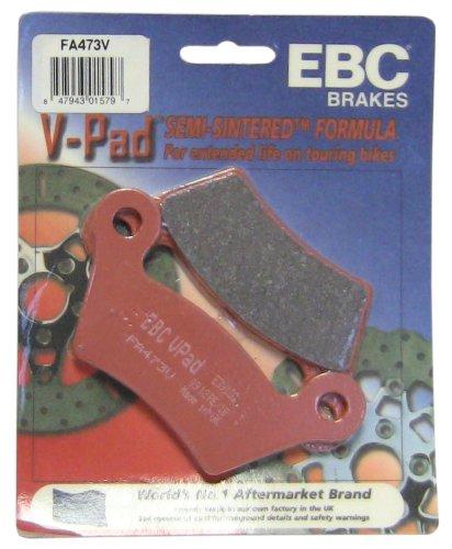 EBC Brakes FA473V Semi Sintered Disc Brake Pad