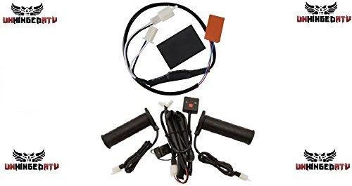 Tusk Heated Grip Kit WThumb Throttle Warmer