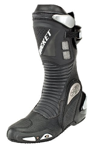 Joe Rocket Motorcycle Speedmaster 3.0 Boot Mens Black Size 11