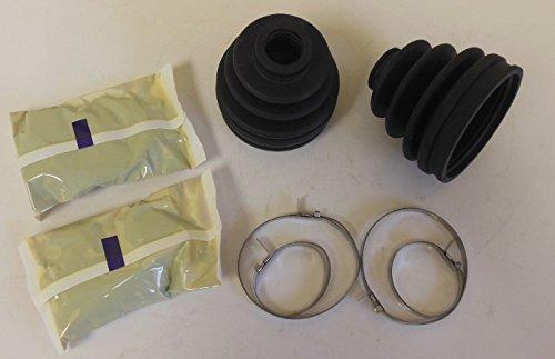 2 Outer CV Boot Kit Kawasaki Bayou 400 4X4 1993 1994 1995 1996 1997 1998 1999