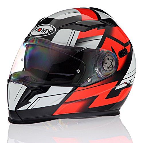 Suomy Halo Street Red Helmet size Large