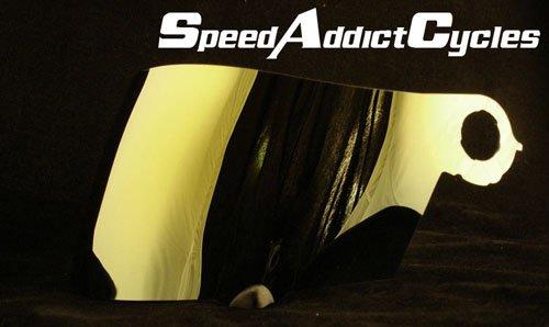 Suomy Spec-1R  Extreme  Apex  Excel Gold Iridium Shield