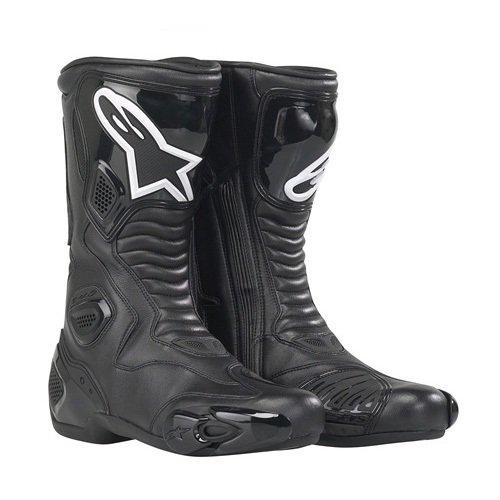 Alpinestars S-mx 5 Vented Boots , Distinct Name: Black, Gender: Mens/unisex, Size: 5, Primary Color: Black 2223091138