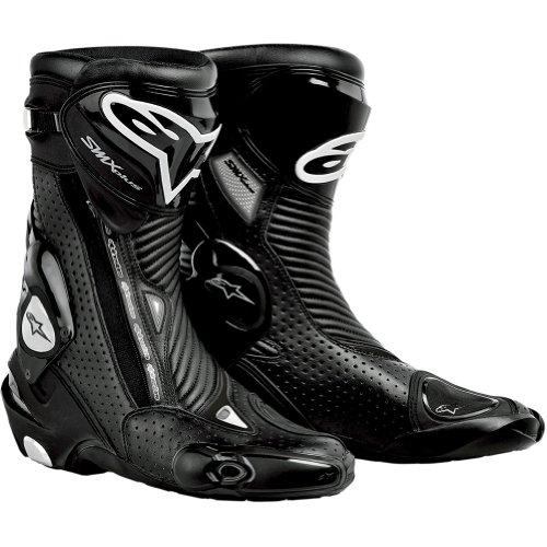 Alpinestars S-mx Plus Gore-tex Vented Men's Waterproof Sports Bike Motorcycle Boots - Black / Size 47