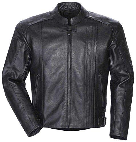 Tourmaster Coaster 3 Mens Black Leather Jacket - X-large