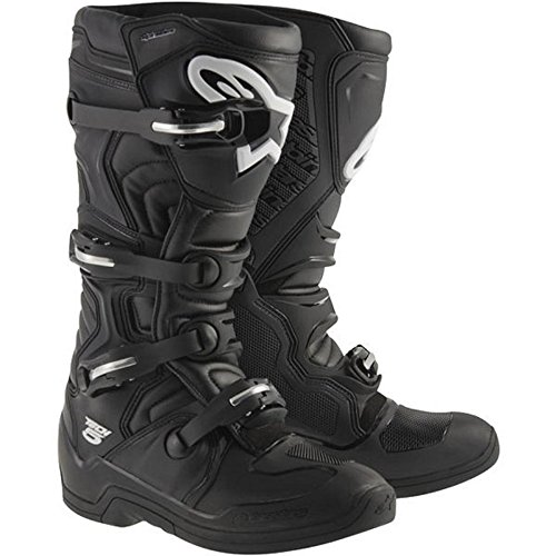 Alpinestars Tech 5 Offroad Motocross Boots Black Mens Size 10