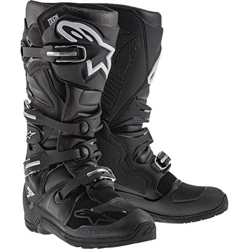 Alpinestars Tech 7 Enduro Mens Off-Road Motorcycle Boots - Black  11
