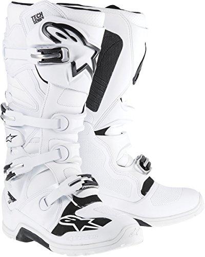 Alpinestars Tech 7 Enduro Mens Off-Road Motorcycle Boots - White  12