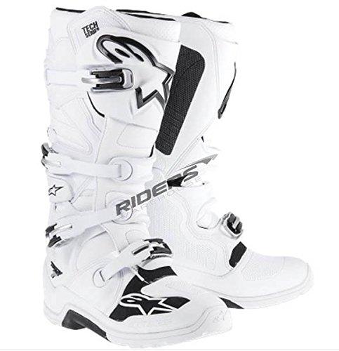 Alpinestars Unisex-Adult Tech 7 Enduro Boots White Size 7