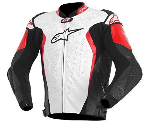 ALPINESTARS GP Tech Jacket Leather BlackRedWhite Medium